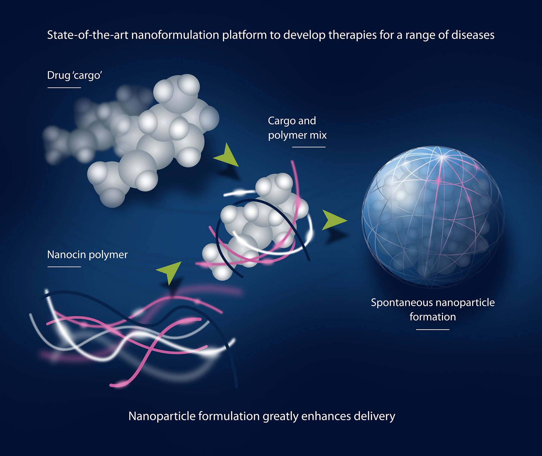 Nanoparticle formulation greatly enhances delivery